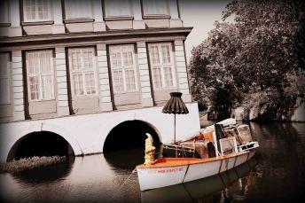 Umflutgraben des Wolfenbütteler Schlosses