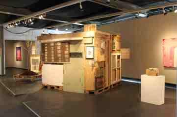 """""""unvernünftige Räume"""", Galerie Artlantis Bad Homburg"""