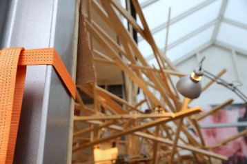 Installationsansicht Galerie Jaeschke