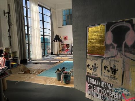 new studio space, Manuela Karin Knaut 2016